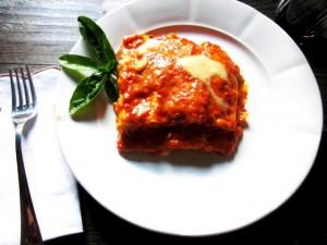 Lasagnette con crema di peperoncino