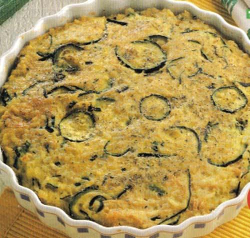 torta di riso e zucchine