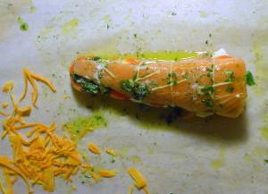 Arrosto di salmone al forno
