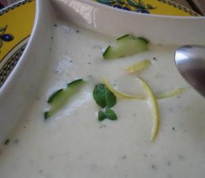 Zuppa di cetrioli