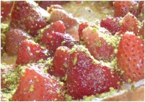 Crostata di fragole e panna