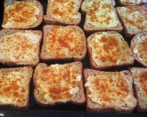 Crostini caldi al tartufo