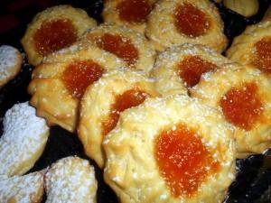 Pastine con marmellata