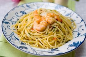 Spaghetti alla carbonara marina