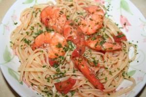 Spaghetti ai Gamberoni