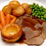 |⇨ Roast beef con verdure