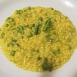 |⇨ Risotto agli asparagi, olio e zafferano