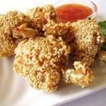 |⇨ Bocconcini di pollo al sesamo