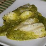 |⇨ Crema di zucchine con filetti di sogliola (o Platessa)
