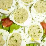 |⇨ Uova in crema di carciofi