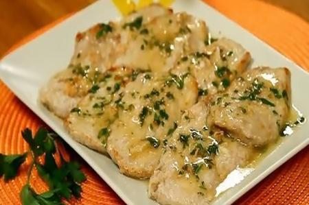 Bistecche di tacchino in salsa di crescione il piacere - Crescione ricette cucina ...