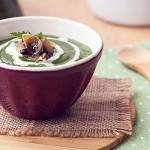 |⇨ Crema di spinaci ai funghi