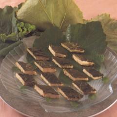 Pesce spada in foglie di vite