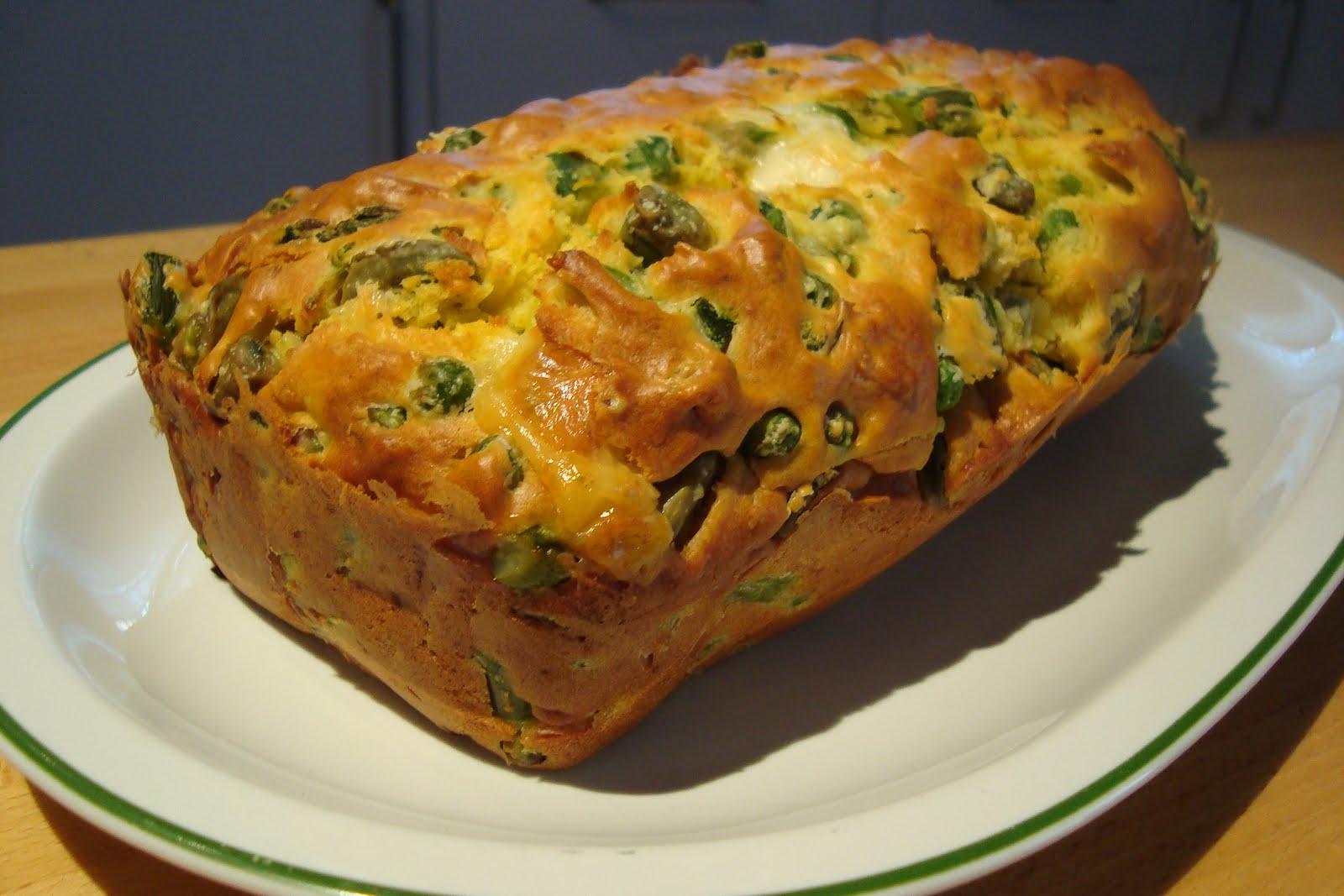 Plumcake salato con asparagi