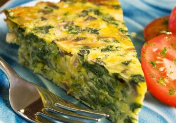 Torta di spinaci e formaggio