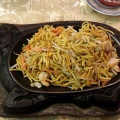 Spaghetti cinesi alla piastra
