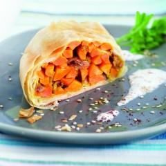 Strudel di carote