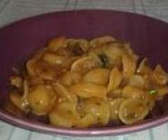 Orecchiette risottate con funghi e salsiccia