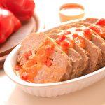 |⇨ Polpettone di Carne e Peperoni