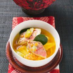 Zuppa di Pesce con Ananas
