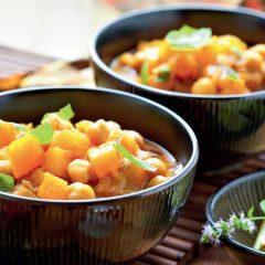 Insalata di ceci e lenticchie con cipolle rosse