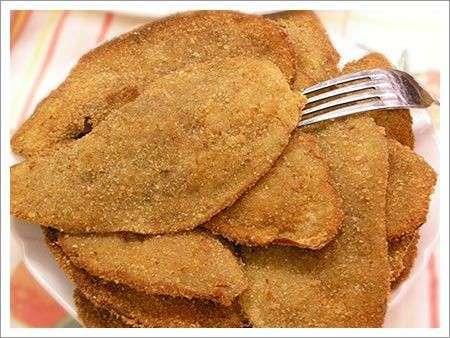 Melanzane impanate e fritte light al microonde