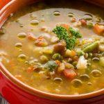  ⇨ Minestrone verdure e lenticchie