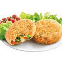 Mini burger di soia e verdure