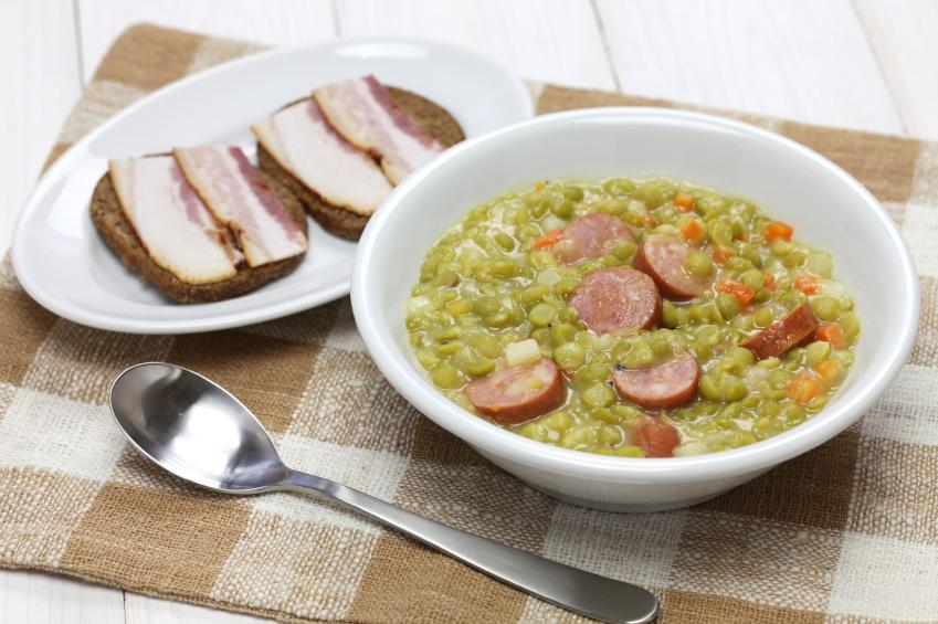 Zuppa di Piselli Olandese