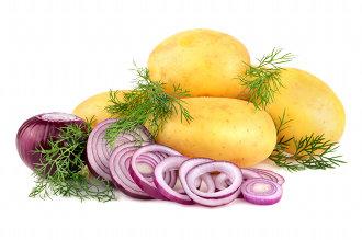 Rosti con cipolla