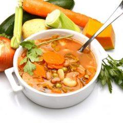 Zuppa di verdure semplice