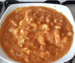 Pasta con crema di lenticchie