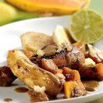 |⇨ Pollo al Curry con Patate e Banane