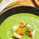  ⇨ Zuppa con verdure di primavera e aneto