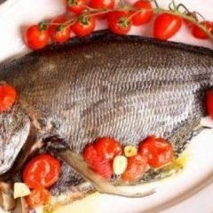 Pesce castagna al forno