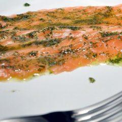 Salmone in Salsa di Aneto
