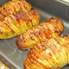 Sfogliatelle di patate e speck