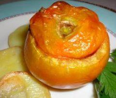 Pomodori ripieni alla mediterranea