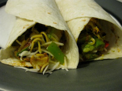 Burritos vegetariani