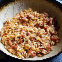 Riso alla Spagnola con Carne di Manzo