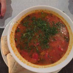 Zuppa di Pesce e Verdure