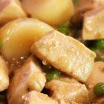 |⇨ Bocconcini di pollo patate e piselli