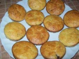 Muffin ai funghi e formaggio