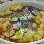 |⇨ Orate con patate e pomodorini