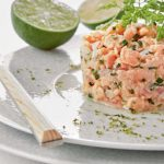 |⇨ Semplice Tartara di salmone
