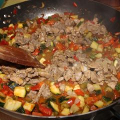 Couscous di Carne e Verdure