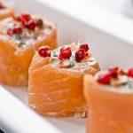 |⇨ Involtini di Salmone e Spigola