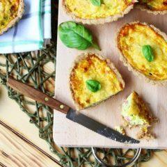 Mini quiche al farro con verdure
