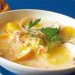 |⇨ Zuppa di Patate e Vongole