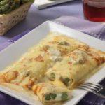 |⇨ Crêpes con asparagi e gorgonzola